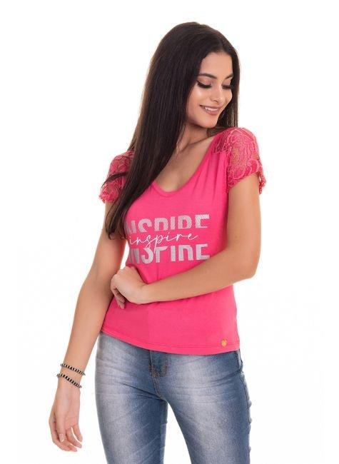2554 tpd 3959 blusa feminina em visco com abertura nas mangas p a gg