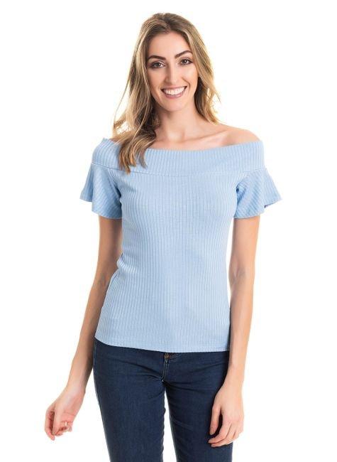 2565 5 tpd 2531 blusa feminina canelada ombro a ombro p a gg