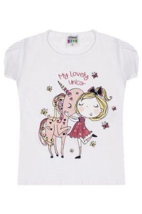 7365 branco blusa infantil feminina