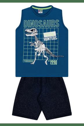 7397 azul moletom intantil dinosaurs dino 01