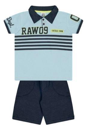 7393 azul camisa polo bermuda moletom03
