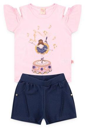 6223 conjunto blusa rosa bebe meia malha e shorts favo 46810 2
