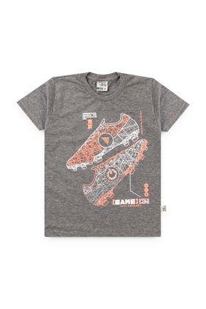 6077 camiseta mescla chumbo avulsa meia malha 46810