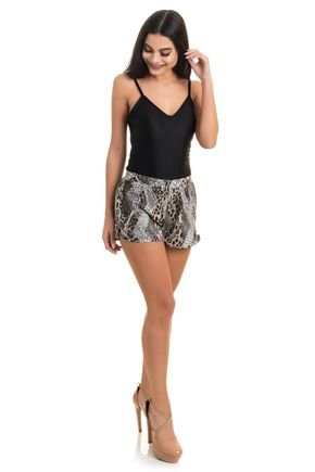 2388 short viscolycra estampada flores folhas animal print 1