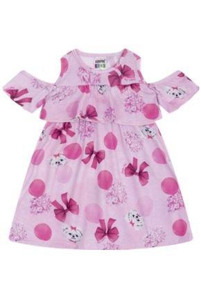 7340 rosa vestindo infantil feminino