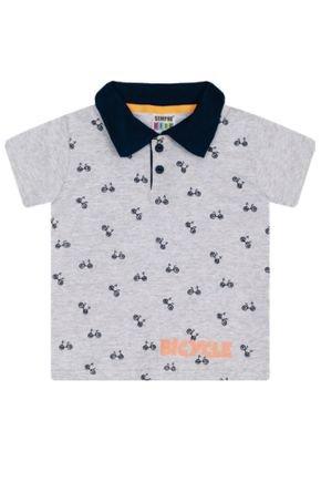 7349 mescla camiseta polo intantil