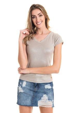 2548 45 tpd 2376 blusa feminina em ribana com brilho tiras transpassadas nas costas p a gg
