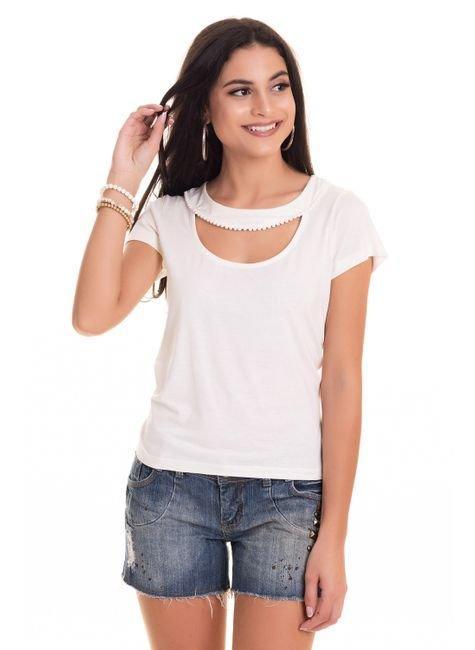 2569 24 tpd 4067 blusa feminina em viscose com pompom decote p a gg