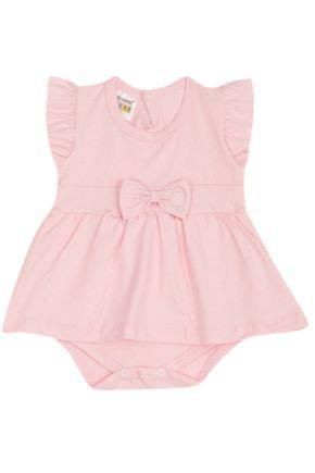 7308 rosa body com saia infantil menina com saia