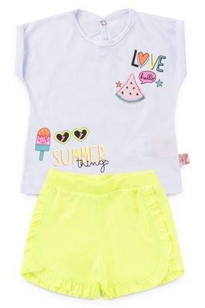 6170 cibjunto infantil frutas e sorvete summer love neon florecente 3