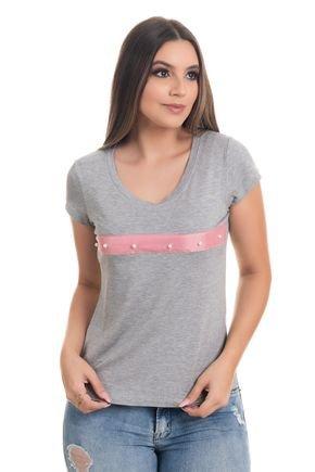 1523 t shirt feminian em viscolycra com faixa e perolas bordada 3