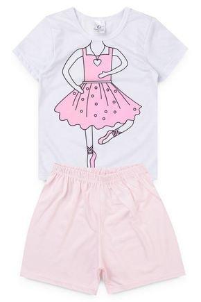 10125 pijama infantil feminino bailarina 1