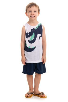 10116 e 10117 pijama infantil regata dino dinossauro 1