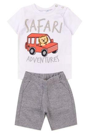 5023 conjunto infantil safari 1