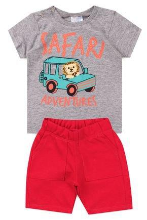 5023 conjunto infantil safari 4