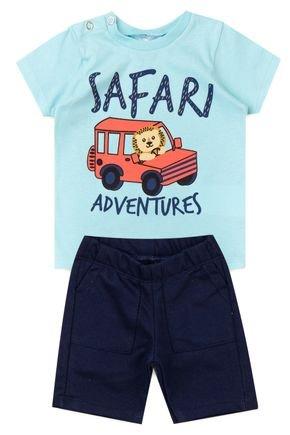 5023 conjunto infantil safari 7