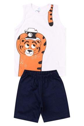 5018 conjunto infantil masculino tigre 1