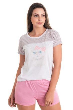 10161 pijama feminino gatinho 2