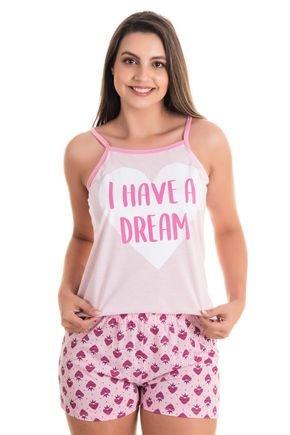 10165 pijama feminino alcinha 2