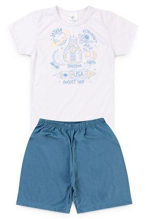10107 e 10108 pijama infantil planetas astronautas 6