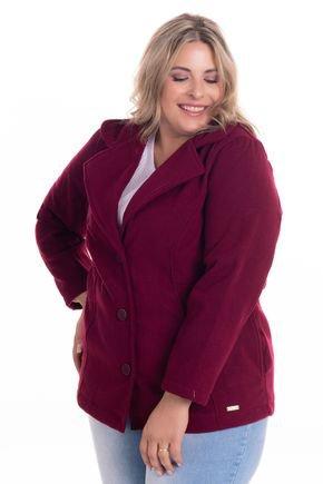 2083 6 casaco feminino em la batida plus size