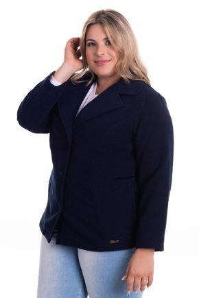 2083 8 casaco feminino em la batida plus size