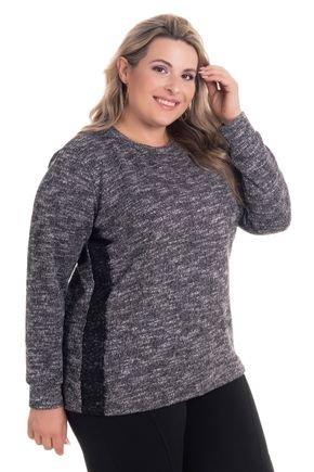 2530 6 blusa em malha tricot c detalhe em renda plus size