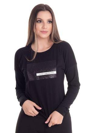 2447 5 blusa feminina decote redondo em malha visco 0