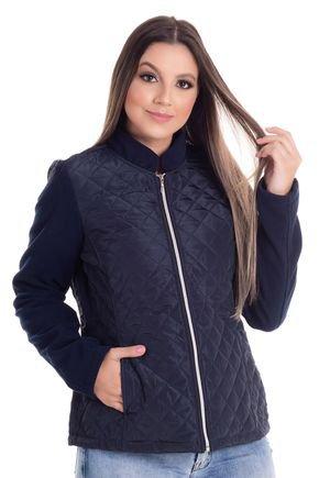 2457 4 jaqueta em matelasse dublado e mangas em la sintetica 0