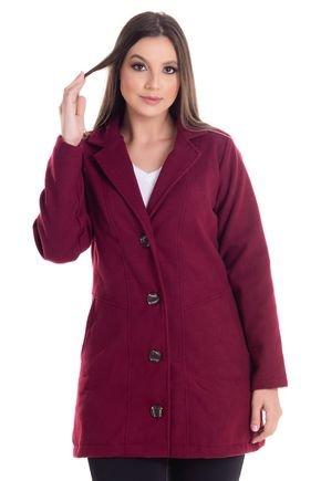 2452 2 casaco feminino em la batida 0