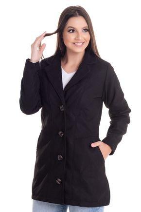 2452 7 casaco feminino em la batida 0