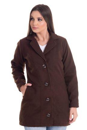 2452 9 casaco feminino em la batida 0