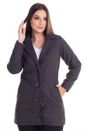2452 12 casaco feminino em la batida 0