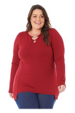 103616 blusa plus size em viscolycra vermelha 1