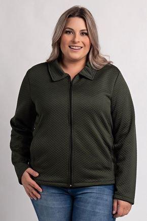 2611 jaqueta plus size feminina matelasse 4