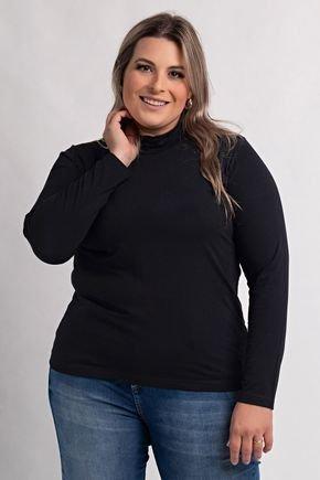 8000 blusa plus size feminina manga longa gola alta viscolycra 2