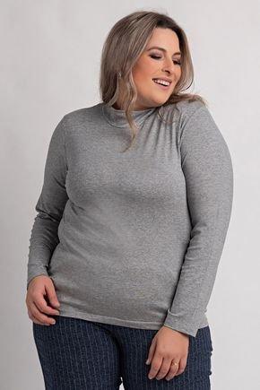 8000 blusa plus size feminina manga longa gola alta viscolycra 4
