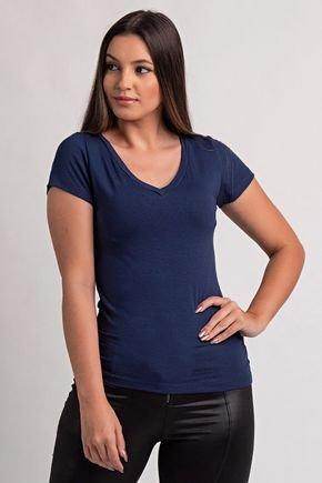2100 blusa feminina visco gola v ki beleza 3