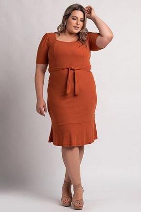 0585192 vestido feminino plus size cereja rosa 3